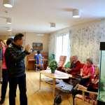 侯友宜訪瑞典老人照護中心 汲取北歐先進社福經驗