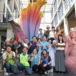 陶瓷博物館4米美人魚泥雕 打卡朝聖新景點