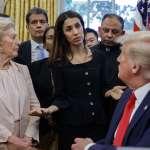 白宮也有草包!接見去年諾貝爾和平獎得主,川普驚問:妳拿過諾貝爾獎?真難以置信,他們為什麼給妳這個獎?