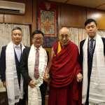 羅文嘉率團赴印度訪達賴喇嘛 民進黨發言人:對「此事」印象特別深刻