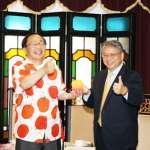日本青森知事訪台 中市府邀「睡魔花燈」參展燈會