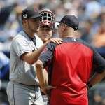 MLB》4.1局狂失8分 鮑爾將球丟向中外野洩憤