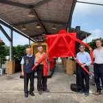 台糖加油站設五分車故事館 臺南虎山新增打卡熱點