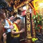 基隆中元祭系列活動 由老大公廟開龕門後展開