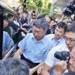 反擊柯文哲「都貪污」說 陳水扁:不用作民調,大家都知道民進黨清廉度贏國民黨