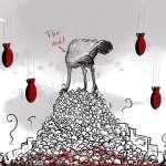「我們只看到鮮血、黑暗和破壞」敘利亞女性諷刺漫畫家描繪戰地悲歌