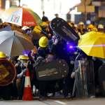購買雷射筆被控「藏有攻擊性武器」! 20警力上門拘捕香港浸大學生會長