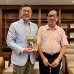 與卓榮泰合照引熱議 陳水扁:政治上沒有永遠的朋友和敵人
