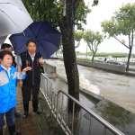 中市今強降雨多處淹水 市府緊急應變排除