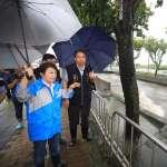 網友上盧秀燕臉書貼「淹水照」酸作秀 中市府:都是不實資訊,不要見獵心喜