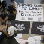 香港機場取得法庭禁制令:禁止任何人干擾機場運作,不可在指定地點之外示威
