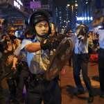 稱讚對空鳴槍警察「表現英勇、克制」!港府強調示威者襲擊在先,將追究暴徒責任