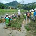 「打造多元棲地的諾亞方舟」 台北永春陂濕地公園增建人工生態浮島