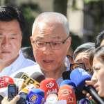 重申對香港反送中立場 吳敦義:國民黨堅決反對一國兩制,盼港府與民眾理性溝通