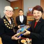 推動城市外交 盧秀燕拜會倫敦西敏市長