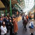 鐵路高架化橋下空間再利用 盧秀燕走訪倫敦「波羅市場」