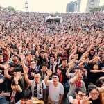 8國33樂團熱力開唱 搖滾台中首日破4萬人次
