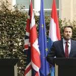 落荒而逃!英相強森記者會搞失蹤躲抗議群眾 盧森堡總理嘲諷:脫歐已成惡夢