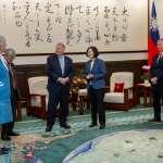 促深化合作!蔡英文會見英國國會議員 盼台英簽自由貿易協定