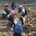 彰化縣首次全海岸減塑聯合淨灘 公私協力守護海洋