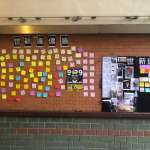 批學生設連儂牆「妨礙交通」 世新校長吳永乾:海報牆不用,非要在牆壁上亂貼