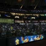 中職》引退賽逾2萬人點亮手機燈 彭政閔哽咽感謝19年支持