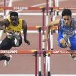 田徑》田徑世錦賽 陳奎儒110公尺跨欄分組第3晉級