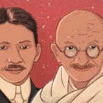 印度聖雄甘地誕辰150周年:從7張照片窺探反叛少年的精彩人生