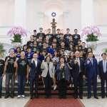 籃球》富邦勇士轉戰ABL 蔡英文:讓世界看到台灣籃球實力