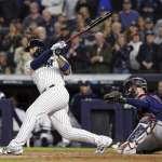MLB》托瑞斯關鍵一擊 洋基美聯分區系列賽拔頭籌