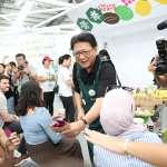 史上最大規模設計超市盛大開張 潘孟安擔任一日店長