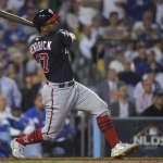 MLB》坎崔克10局上滿貫砲建功 國民逆轉道奇晉級國聯冠軍戰