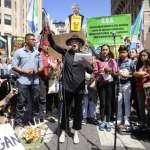 在美國國會外抗議氣候變遷 81歲奧斯卡影后珍芳達被捕