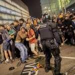 仿效香港「反送中」抗爭!不滿獨派領袖遭重判,加泰隆尼亞群眾占領巴塞隆納機場