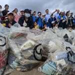 萬里、頂溪國小城鄉聯合淨灘 海洋垃圾重製成實用小物