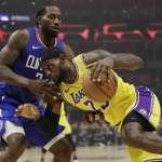 NBA》雷納德豪奪30分力壓詹皇 洛城大戰快艇勝出