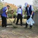 中榮敦親睦鄰院慶活動 打掃鄰近三座公園