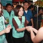 「學姐」黃瀞瑩化身母雞前進三重  首次輔選獻給她