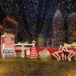 全球唯一雙塔雷射光雕秀 臺灣唯一冬季魔幻城市