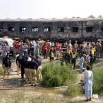 車廂當廚房,釀成大爆炸!巴基斯坦特快車遭火焰吞沒,至少73人喪命