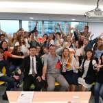 德國康芬豪森中學師生來訪 驚豔新北超商守護飢餓學童