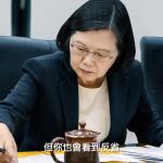 蔡英文《關心台灣》政績影片露白髮 國旗、彩虹旗都入鏡
