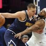 NBA》約基奇延長賽關鍵跳投擊敗灰狼 連兩戰「準絕殺」拯救金塊