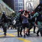 港警對反送中民眾開槍 蘇貞昌:台灣人要看清楚,中國統治下是這樣對待他的人民