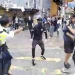 中國官媒為香港警察開槍「叫好」:這是暴徒襲警搶槍,此時不開槍,要槍何用?