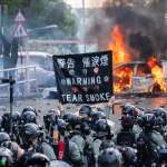 「簡直就是戰場跟地獄!」匆忙逃離香港,義大利留學生:那些年輕人是為了自由而抗爭