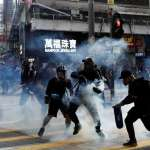 「我去買午餐的路上,遇見發射催淚彈」香港反送中抗爭激化,金融業恐遭受重創