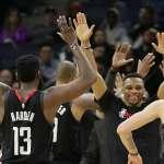 NBA》場場至少35分率火箭8連勝 威斯布魯克:不要把哈登的偉大平凡化