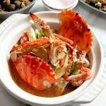 東北季風冷颼颼 吃麻油萬里蟹身心都暖起來