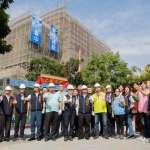 台中大里國民運動中心上梁 明年8月完工